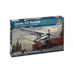 Cessna 172 Skyhawk - Landing On Red Square (1987) 1/48 Kit