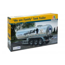 Classic Tank Trailer We Are Family Italeri 1/24 Kit