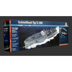 Schnellboote S 100 Prm Edition Italeri 1/35 Kit