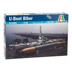 Biber Midget Submarine 1/35 Kit