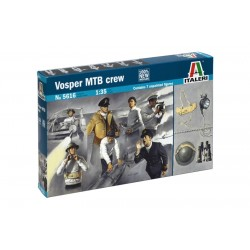 Vosper Mtb Crew 1/35 Kit.Needs Assembly & Painting.