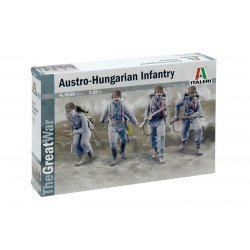 Ww I Austro-Hungarian Infantry 1914 1/35 Scale Kit