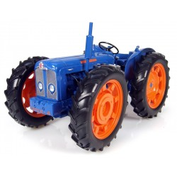 Uh2787 Ford County Super 4 Traactor (Blue/Orange) Agri Model-Scale - 1/16