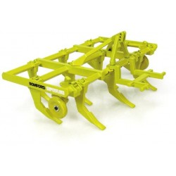 Bomford Uh2944 Bomford Superflow Plough (Yellow) Agri Model-Scale - 1/32