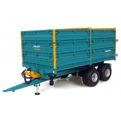 Uh4123 Rolland Bh 100 Tipping Trailer Agri Model-Scale - 1/32