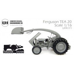 Massey Uh4171 Ferguson Tea-20 With Front Loaded And Weight Scale - 1/16