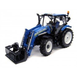 Uh4232 New Holland T6.140 With 740Tl Front Loader Agri Model-Scale - 1/32