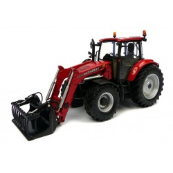 Uh4273 Case Ih Farmall 115U With Front Loader Agri Model-Scale - 1/32