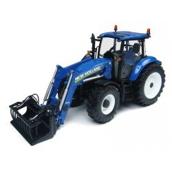 Uh4274 New Holland T5.115 With 740Tl Loader Agri Model-Scale - 1/32