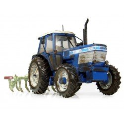 UH7118 Ford Tw-25 With Bomford Superflow Plough Still Hard At Work Limited Edition 1500 Pcs Agri Model-Scale - 1/32