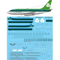 Boeing 737-200 (Aer Lingus) Two Six Decals 1/100