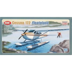 Cessna 172 Floatplane Minicraft Model Kit 1/48