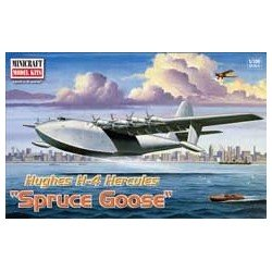 Hughes H4 Hercules Spruce Goose Minicraft Model Kit 1/200