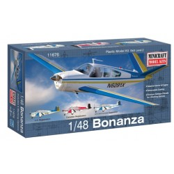 Beech Bonanza V35 Minicraft Model Kits 1/48