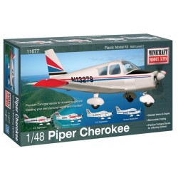 Piper Cherokee Minicraft Model Kits 1/48