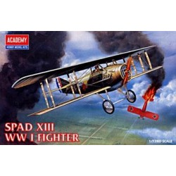 Spad Xiii Wwi Fight Plastic Kit 1/72