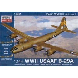 Boeing B29A Superfortress (Usaaf) 1/144 Kit