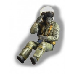 French Pilot Modern Plastic Kit 1/48.Needs Assembly & Painting.