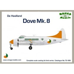 De Havilland Dove Mk8 (Irish Ac) 1/72 Resin Omega