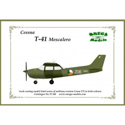 Cessna 172 (Iac) Resin Kit 1/72 Omega Models