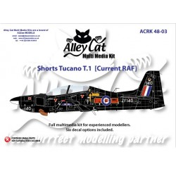Tucano T1 Resin Current Plastic Kit 1/48