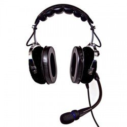 Nicepower An-1000Ac Active Noise Cancelling General Aviation Headset (Black)