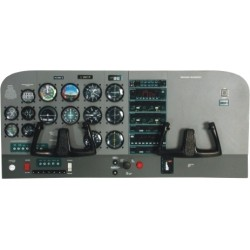 Cessna 172 Instrument Panel Construction 1/4 Kit