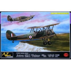 Avro Tutor In Ww2 Az Models 1/72 Scale Kit