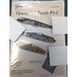 Operation Torch Decals Model Set 1/72