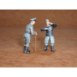Luftwaffe Pilots For Me262 (2 Figures) 1/48 Kit.Needs Assembly & Painting.