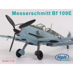 HPH Messerschmitt Bf 109E 1/18 Resin Kit ME109
