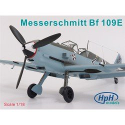 Messerschmitt Bf 109E 1/18 Resin Kit ME109 HPH Models