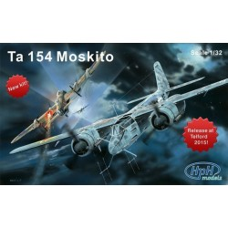 Fw Ta154 Moskito 1/32 Hph Models Resin Kit