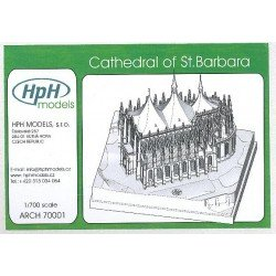 Cathedral Of St. Barbara 1/700 Resin Kit