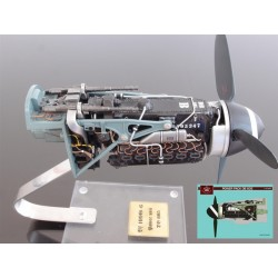 1/18 Power Unit Engine Messerschmitt Bf109G-6 (Daimler Benz Db605) Resin Kit