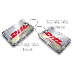 Single Dhl 737 Bag Tag