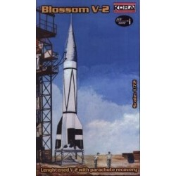 Hermes Ii Rocket 1/72 Resin Kit