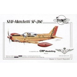 Siai-Marchetti Sf260 (Belgian Air Force) 1/48 Resin Kit Planet Models