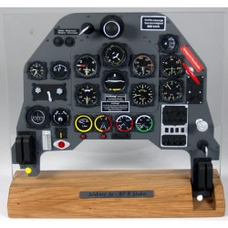 Junkers Ju87 Stuka Instrument Panel 1/4 Scale (Factory Built)