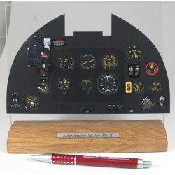 Spitfire Mkix Instrument Panel Factory Built Scale Model