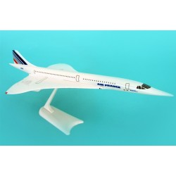 Concorde (Air France) Desktop Model Skymarks 1/250 Scale Snap-Fit Model Prebuilt