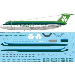 Bac1-11-200 (Aer Lingus) Two Six Decals 1/144
