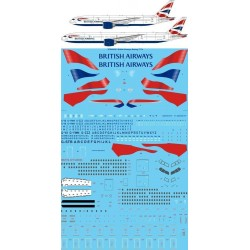 Boeing 777-200/300/Er (British Airways Union Jack ) Two Six Decals 1/144