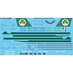 Boeing 707-348C (Aer Lingus) Two Six Decals 1/144 Screenprint
