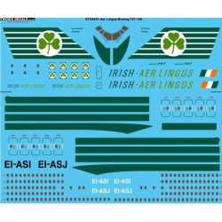 Boeing 747-148 (Aer Lingus) Two Six Decals 1/144