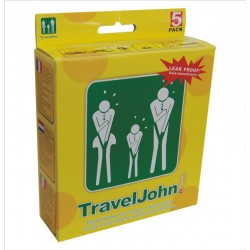 Travel John Disposable Vomit/Urine Economical Bags (5 Bags)