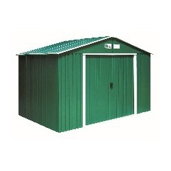 Colossus Springdale 10X12 Metal Apex Shed Green