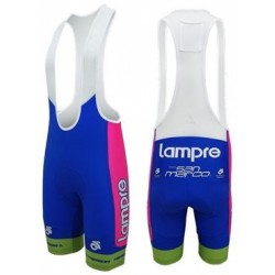 Merida Lampre Merida Team Bib Cycling Shorts Med.