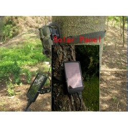 Optional Solar Panel For Acorn Trail Cameras. Invisible Black LED illumination.