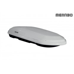 Menabo Diamond Roof Box 500 Ltrs Abs Gloss White